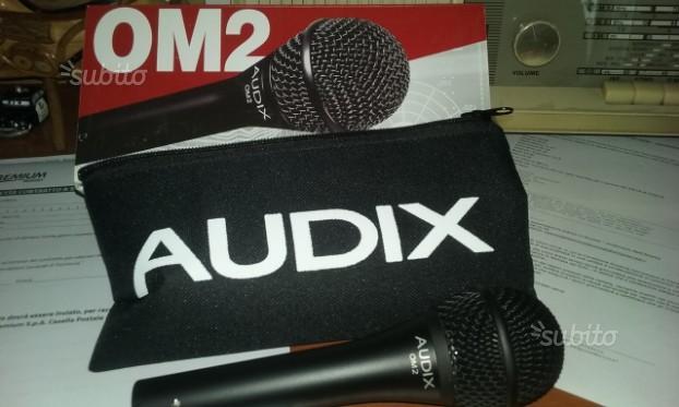 Microfono Audix OM2 Nuovo svendita sconto 50%
