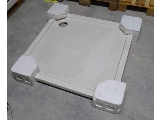 Piatto doccia in acrilico slim 80x80x3,5 cm