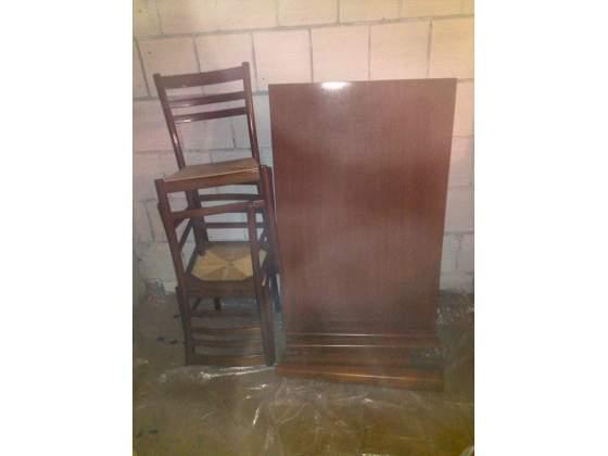 Tavolo in legno massello + 6 sedie