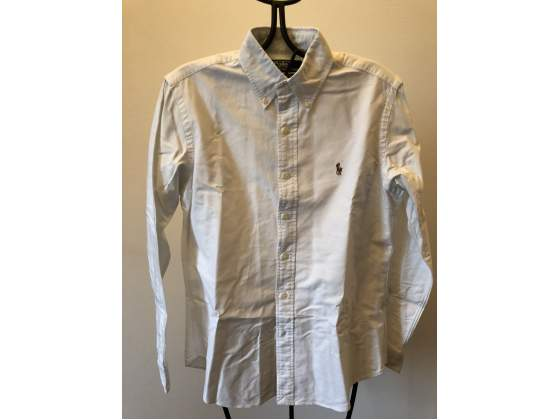 Camicia Polo Ralph Lauren bianca
