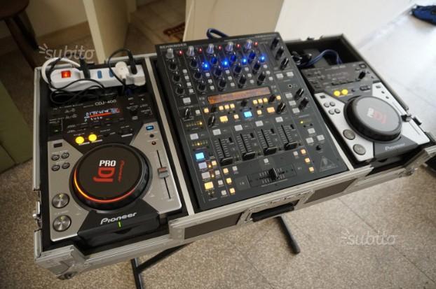 Console DJ CDJ-400 + DDM + Flight Case Pro