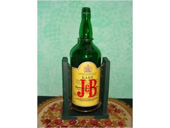 Justerini&brooks gallone con base in legno