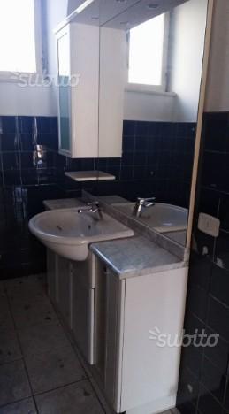Completo bagno tappetino e copri water a uncinetto posot for Vendo mobile bagno
