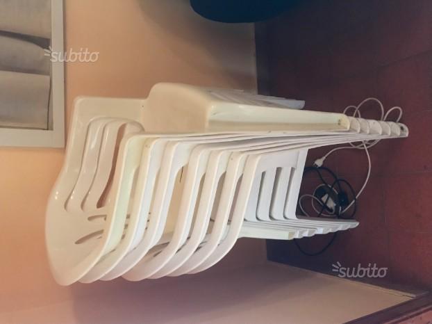 Sedie In Plastica Usate.Sedie Plastica Impilabili Usate Posot Class