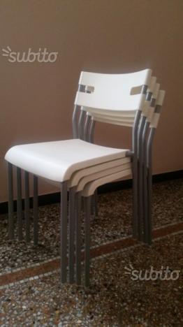 Ikea Sedie In Plastica.Vendo 4 Sedie Ikea Borje Milano Posot Class