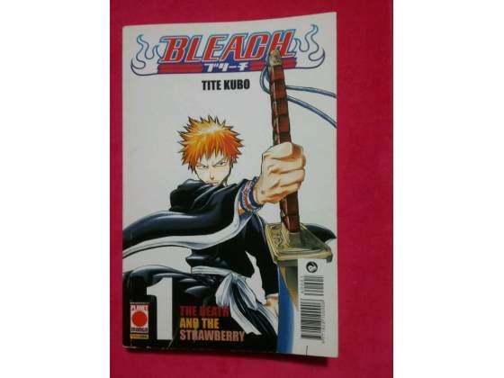 Bleach n.1 Tite Kubo maggio  prima edizione Planet manga