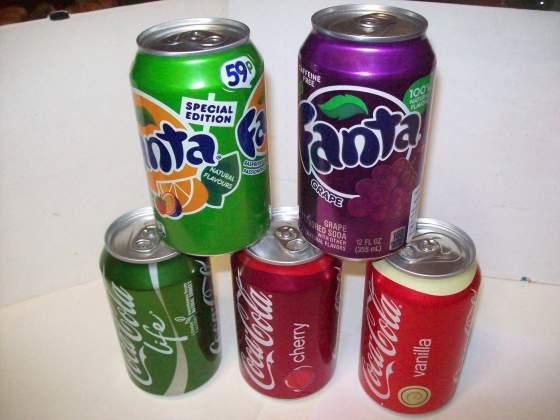 Coca Cola & Fanta lattine da collezionare