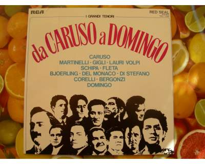 I grandi tenori da caruso a domingo dal  al  lp 33