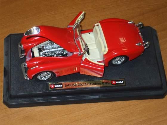 Jaguar xk 120 coupè 1/24