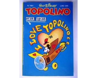 TOPOLINO n. del  copertina adesiva condizione