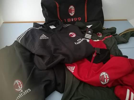 Abbigliamento tecnico Milan nuovo con etichetta L-XL
