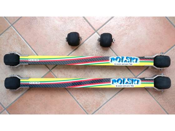 """Barre skiroll """"Vasaroad Carbon"""" NUOVE MAI USATE"""