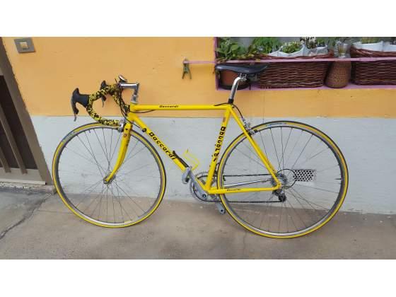 Bici da corsa Bianchi originale gialla