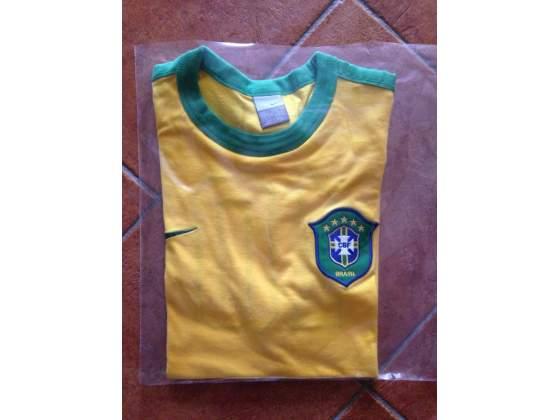 Maglia shirt Brasile neymar calcio mondiali campioni