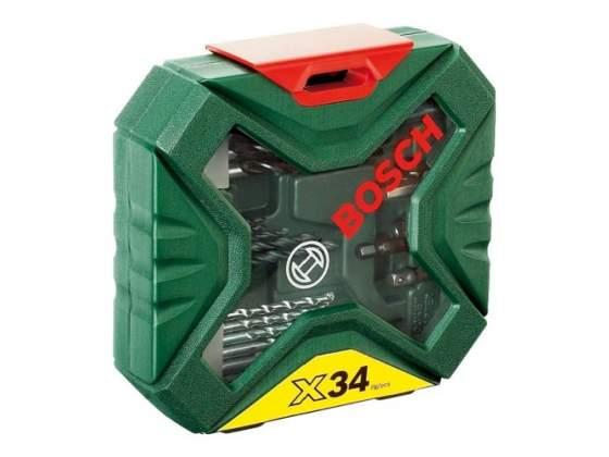 Set X-Line Classic per foratura e avvitamento da 34 pezzi