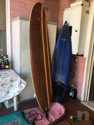 2 tavole da Surf complete di leash e 1 sacca