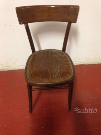 Sedie In Legno Anni 50.Sedie Vintage In Legno Anni 50 Posot Class