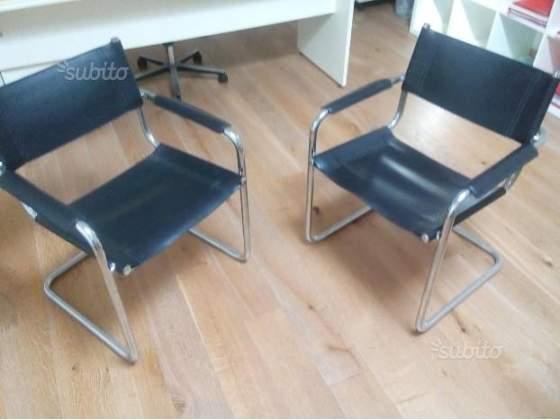4 sedie da ufficio design mod. stam