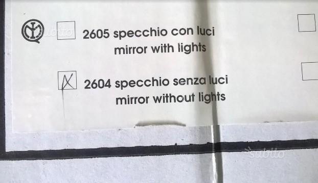 8 specchi da bagno
