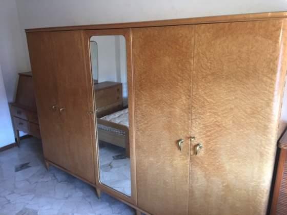 Camera da letto anni in radica di noce posot class - Camera da letto anni 70 ...