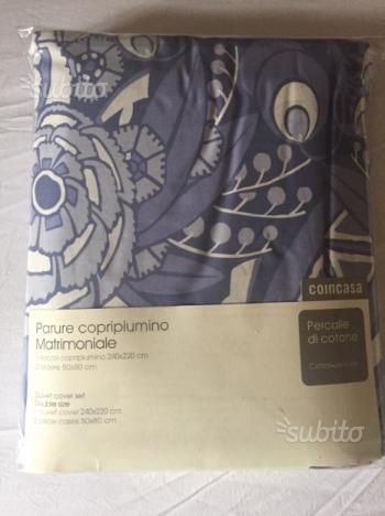 Sacco copripiumino matrimoniale scegli colore posot class - Piumino ikea 4 stagioni ...