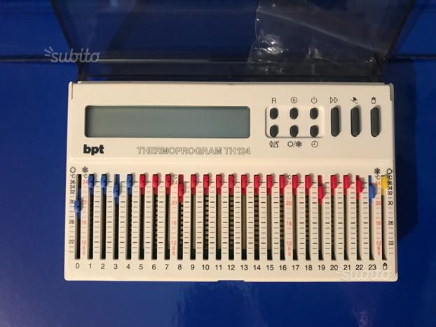 Cronotermostato bpt mod th 124 posot class for Cronotermostato bpt th 124 prezzo