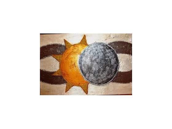 Eclissi solare 80x120