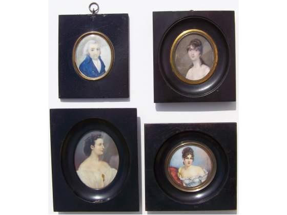 Gruppo di 4 Miniature del .