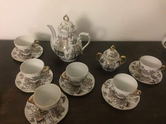 Set servizio the' caffe' porcellana