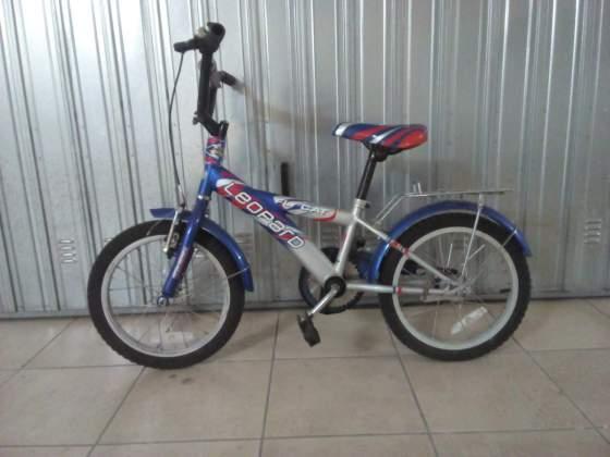 Bici Bimbo 4-8 anni Taglia 16 Pollici - Leopard con rotelle