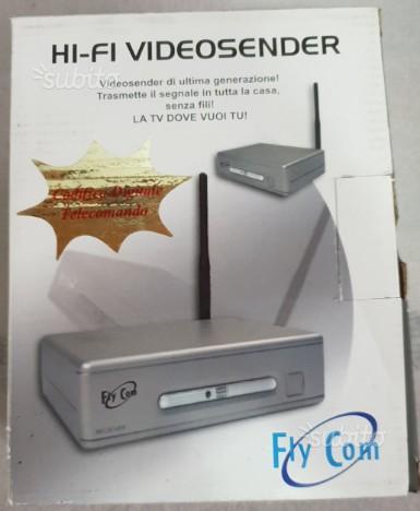 Coppie Hi-fi video sender + Telewire video sender