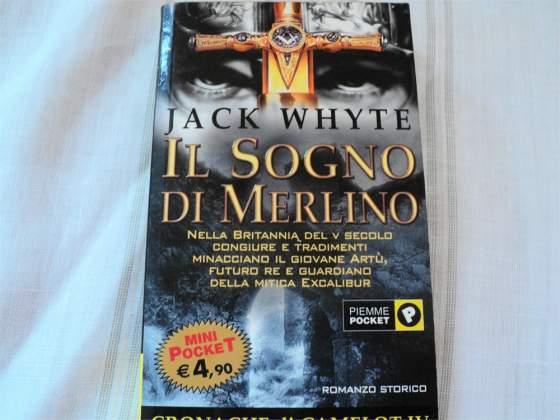 LIBRO LETTURA RACCONTO romanzo Il sogno di Merlino Euro 3