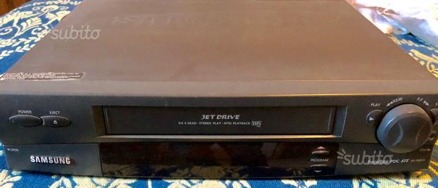 Lettore registratore VHS samsung jet drive