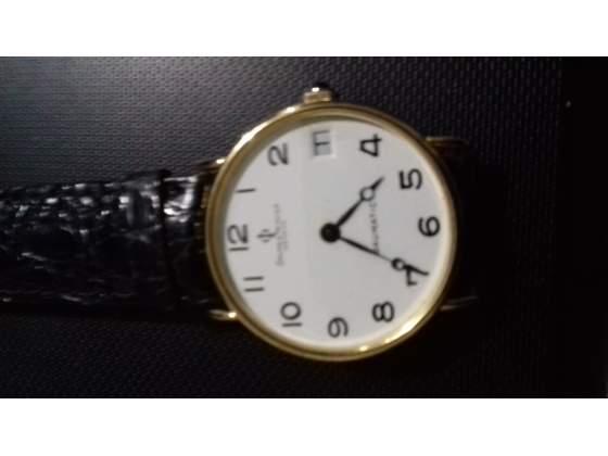 Orologio oro da vetrina con garanzia italiana