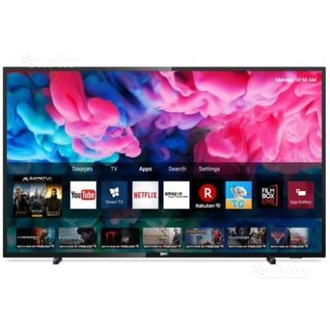 "SMART TV LED 50"" Ultra HD 4K Philips IMBALLATO"