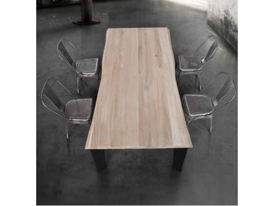 Tavoli in legno massello spessore 6 cm
