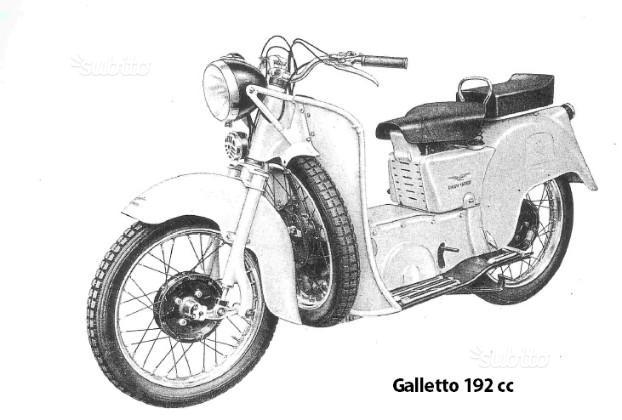 Airone 250 e Galletto 192 cc (manuali di officina)