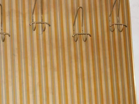 Attaccapanni e accessori vintage legno tessuto acciaio