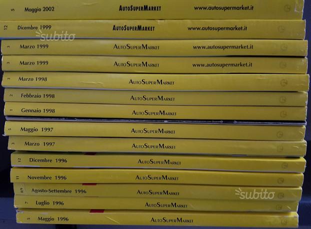 Lotto di riviste AutoSuperMarket