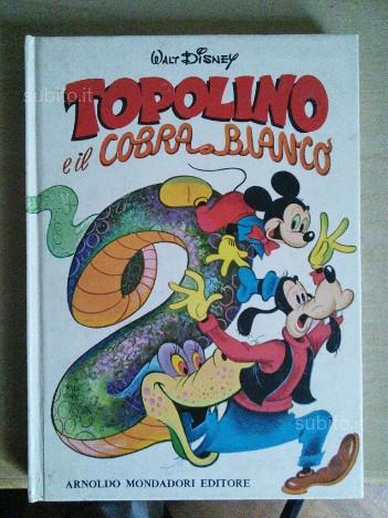 Topolino e il cobra bianco - Cartonato