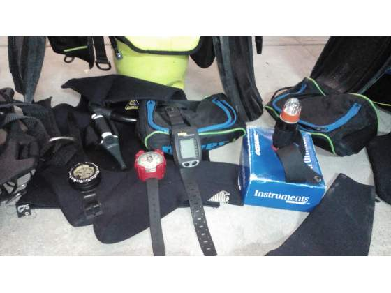 Attrezzatura subacquea mares