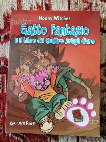 Gatto Fantasio e il libro dei quattro artigli d'or