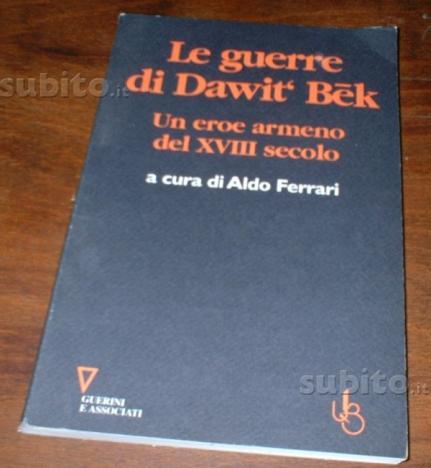 Le guerre di dawit bek eroe armeno XVIII secolo