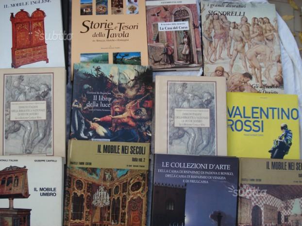 Libri di arte,narrativa,sport,poesia e altro