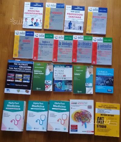 Libri test medicina e chirurgia lotto 19 libri