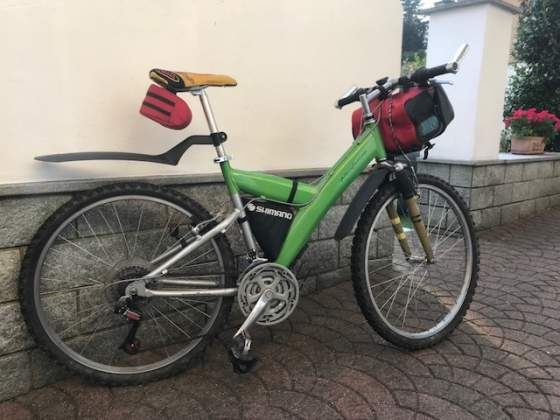 Mountain bike Pininfarina alluminio
