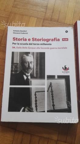 Storia e Storiografia 3A, 3B