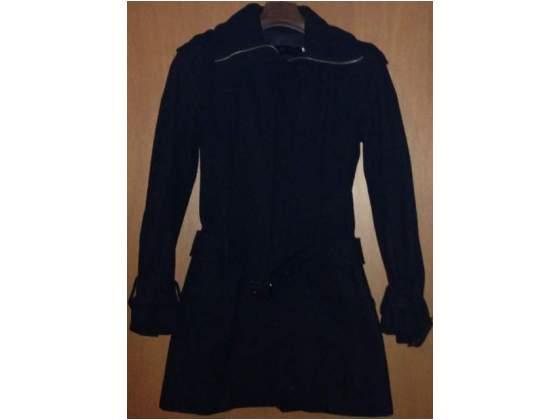 Cappotto donna nero imperial taglia s lana vergine 526acf6d7b39