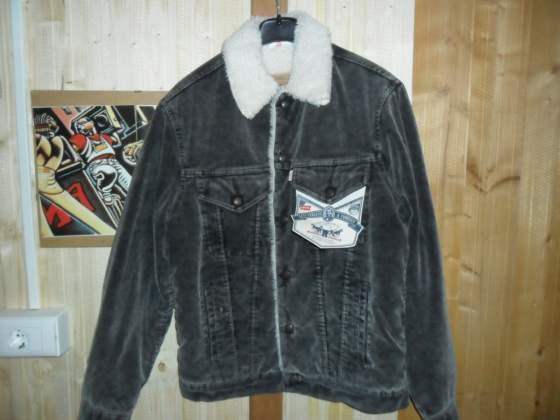 Original levi's sherpa jacket velluto