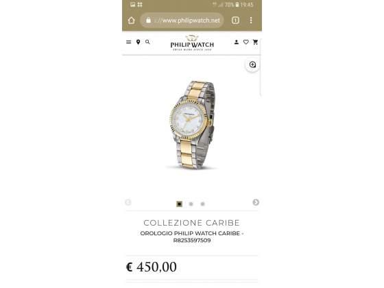 Orologio da donna placcato in oro philip watch originale